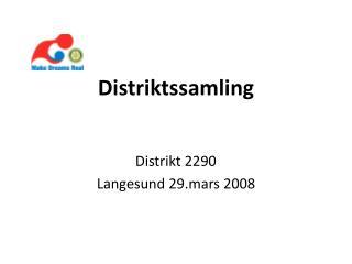 Distriktssamling