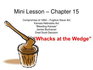 Mini Lesson – Chapter 15