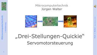 Mikrocomputertechnik Jürgen Walter