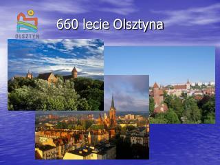 660 lecie Olsztyna