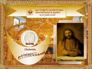 LEucharistie don de Dieu