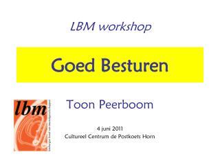 LBM workshop