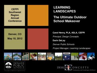 LEARNING LANDSCAPES The Ultimate Outdoor School Makeover