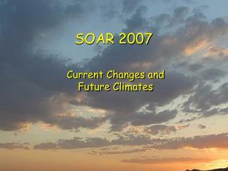 SOAR 2007