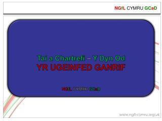 Tai a  Chartrefi –  Y  Dyn Od YR UGEINFED GANRIF NG f L  CYMRU  GC a D