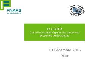 10 Décembre 2013 Dijon