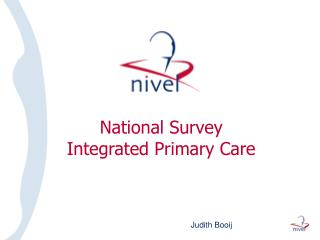 National Survey  Integrated Primary Care