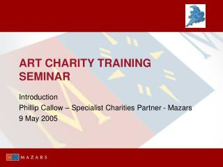 ART CHARITY TRAINING SEMINAR