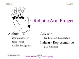 Robotic Arm Project