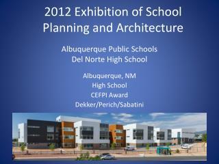 Albuquerque Public Schools Del Norte High School