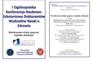 Warszawski   Uniwersytet Medyczny Warszawa 03.06.2012