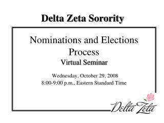 Delta Zeta Sorority