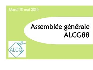 Assemblée générale  ALCG88