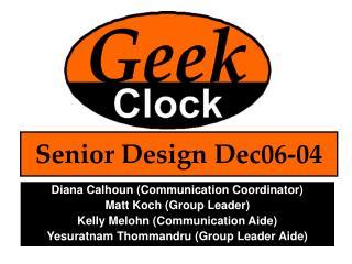 Senior Design Dec06-04