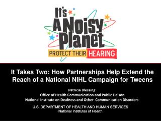 U.S.  DEPARTMENT OF HEALTH AND HUMAN SERVICES National Institutes of Health