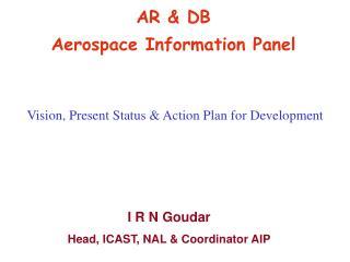 AR & DB Aerospace Information Panel