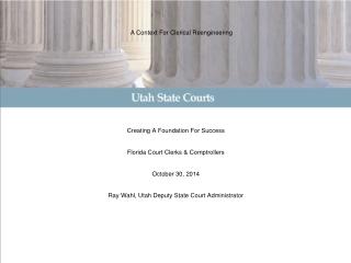 Judicial Employee Benefits Overview