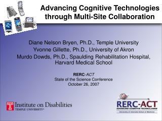 Diane Nelson Bryen, Ph.D., Temple University Yvonne Gillette, Ph.D., University of Akron
