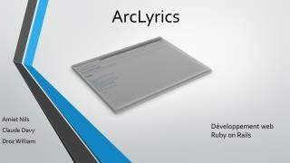 ArcLyrics