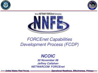 FORCEnet Capabilities Development Process FCDP