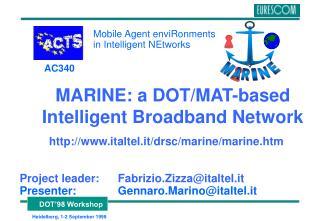 MARINE: a DOT/MAT-based Intelligent Broadband Network