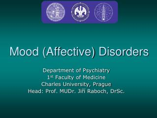 Mood (Affective) Disorders