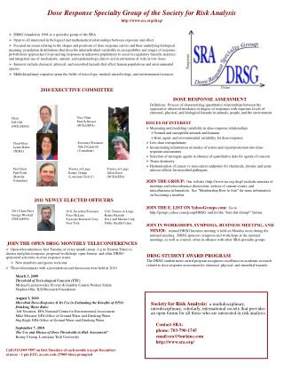 DRSG founded in 1994 as a specialty group of the SRA