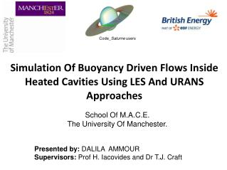 Simulation Of Buoyancy Driven Flows Inside Heated Cavities Using LES And URANS  Approaches
