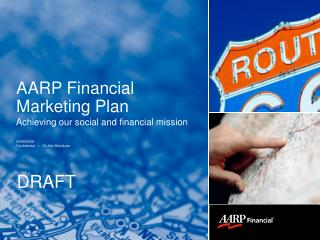 AARP Financial  Marketing Plan