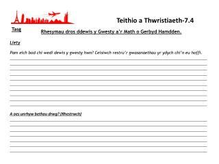 Teithio a Thwristiaeth-7.4
