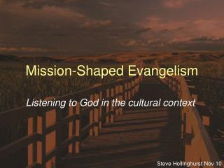 Mission-Shaped Evangelism