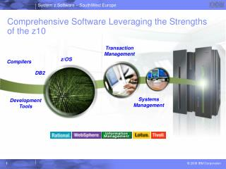 Comprehensive Software Leveraging the Strengths of the z10