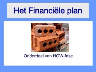 Het Financi�le plan