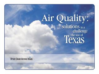 State of Texas Air: