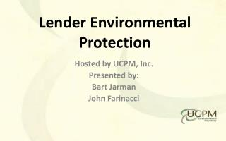 Lender Environmental Protection