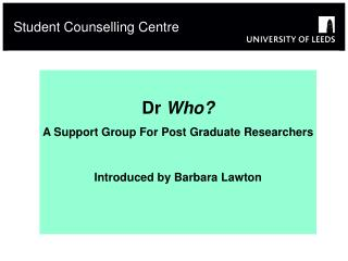 Student Counselling Centre