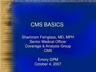 CMS BASICS