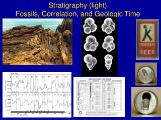 Stratigraphy (light) Fossils, Correlation, and Geologic Time