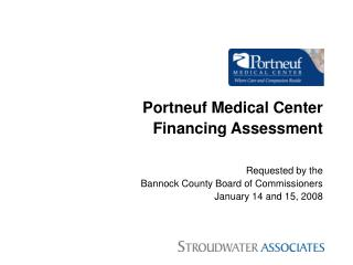 Portneuf Medical Center Financing Assessment