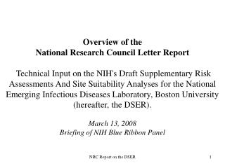 NRC Committee Membership