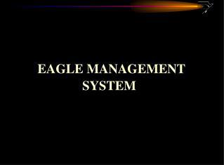 EAGLE MANAGEMENT  SYSTEM