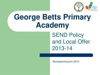 George Betts Primary Academy