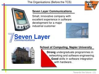 The Organisations (Before the TCS)