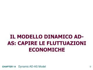 Il modello dinamico  Ad-as : capire le fluttuazioni economiche