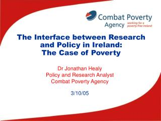 The Interface between Research and Policy in Ireland: The Case of Poverty
