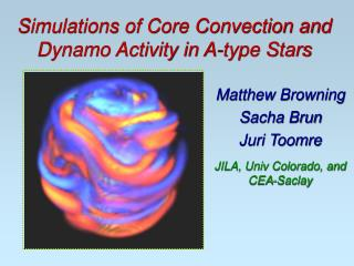 Simulations of Core Convection and Dynamo Activity in A-type Stars