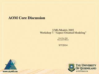 AOM Core Discussion