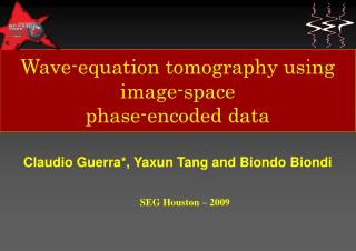 Wave-equation tomography using image-space phase-encoded data