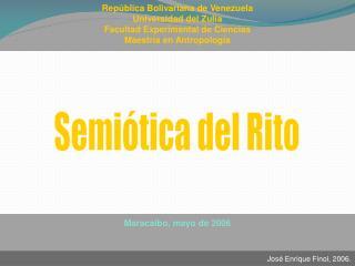 República Bolivariana de Venezuela Universidad del Zulia Facultad Experimental de Ciencias