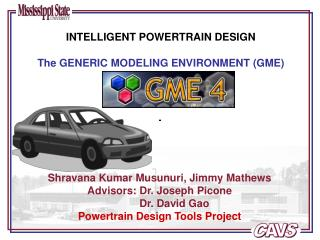 INTELLIGENT POWERTRAIN DESIGN